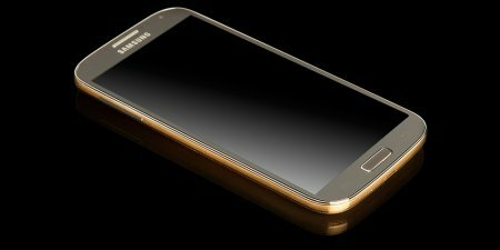 Samsung выпустит Galaxy S4 Gold Edition