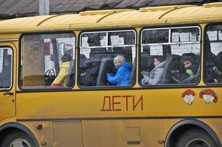В Кемеровской области загорелся автобус, перевозивший детскую волейбольную команду